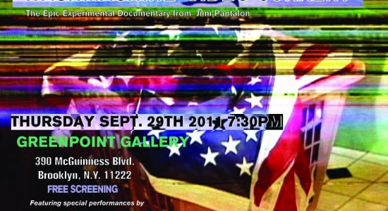 Free Screening at Greenpoint Gallery Sept. 29th 7:30pm 2011