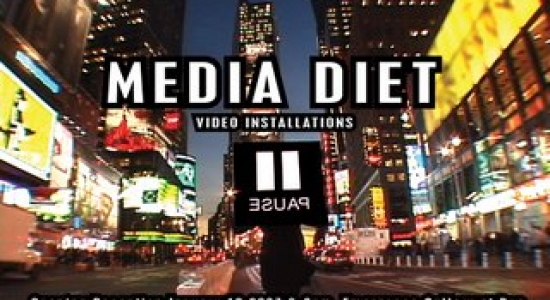 MEDIA DIET Video Installations EMERGENCE GALLERY