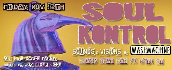 SOUL KONTROL @ BLACK BEAR BAR