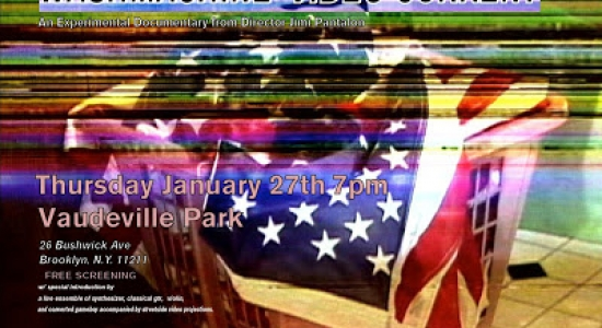 THURSDAY JAN.27th 2011 7pm_ Free Screening at Vaudeville Park